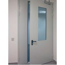 Дверь техническая ( Двухсвторчатая)
