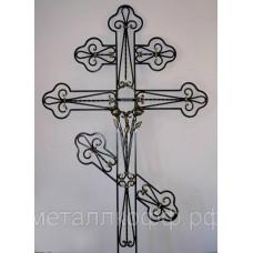 Крест кованый 01