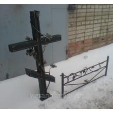 Крест кованый 02