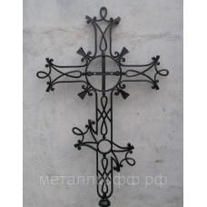 Крест кованый 04