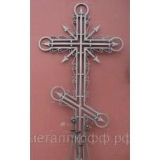 Крест кованый 05